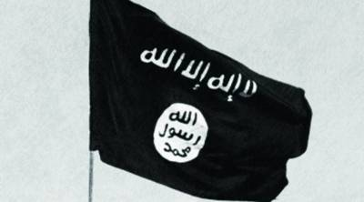 ISIS's flag - flying by now over Damascus if Russia had not intervened