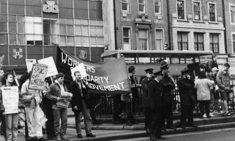 Counter demo to YD anti-women march - 1992?