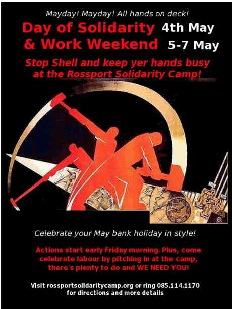 Come spend your May bank holiday weekend in Solidarity!