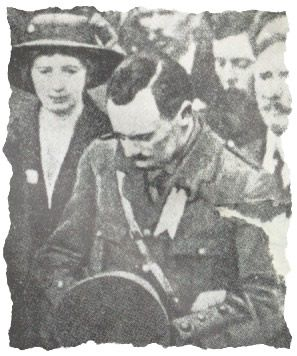 Padraig Pearse at the Funeral of O'Donovan Rossa