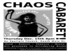 Chaos Cabaret For Solidarity Books