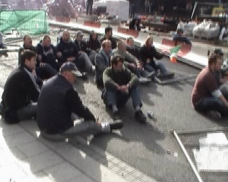 Sit down protest