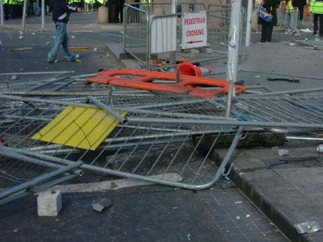 Abundant Selection of Anti-Riot Police Barricades