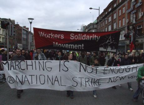 WSM group on march with strike call