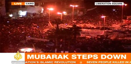 The Revolution has won, Mubarek has Gone!!!
