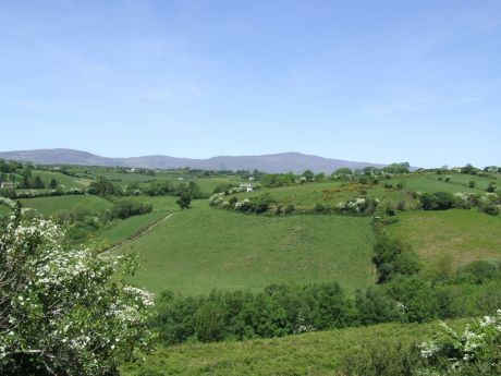… just a shout and a short walk away from Joe Burke's farm across the Mealagh river valley.