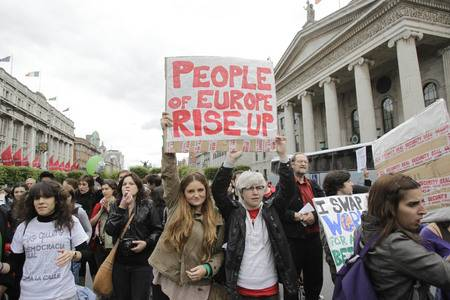 People of Europe Rise Up: The initial response from Ireland