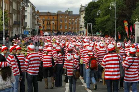 "This is what a crowd of F*CKING Wallies looks like: J18 Dublin takes to the streets ""for the craic"""