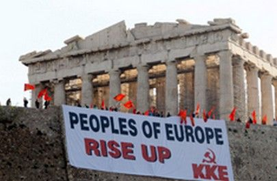 """Peoples of Europe, Rise Up"""