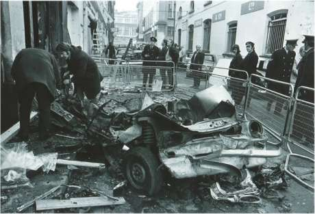 Another picture from the bombing on Sackville Place, copyright the respective owner