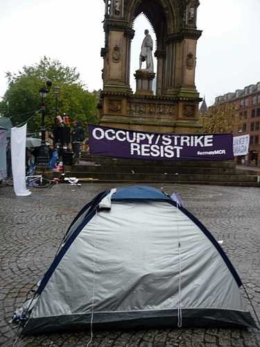 Occupy Strike Resist - occupations come to Manchester, UK