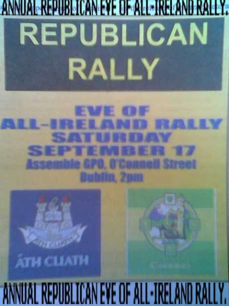 Republican Rally , Dublin - Sat 17th September 2011.